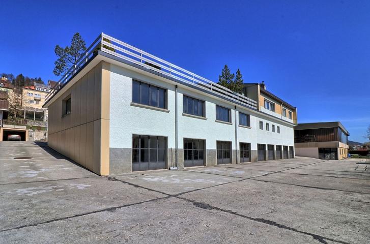 Les Ponts-de-Martel, immeuble mixte. VENDU-Janvier 2019